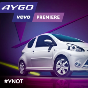 Toyota Aygo / Vevo Idents